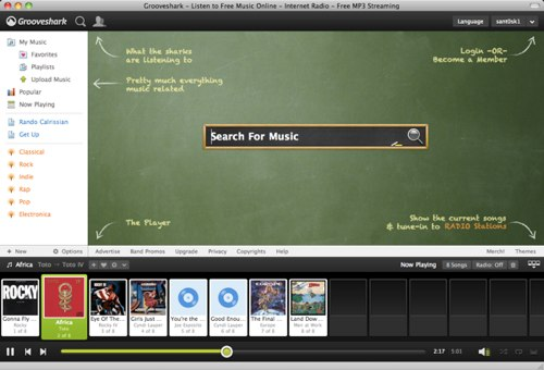 the new Grooveshark