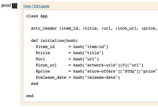 Talker code paste